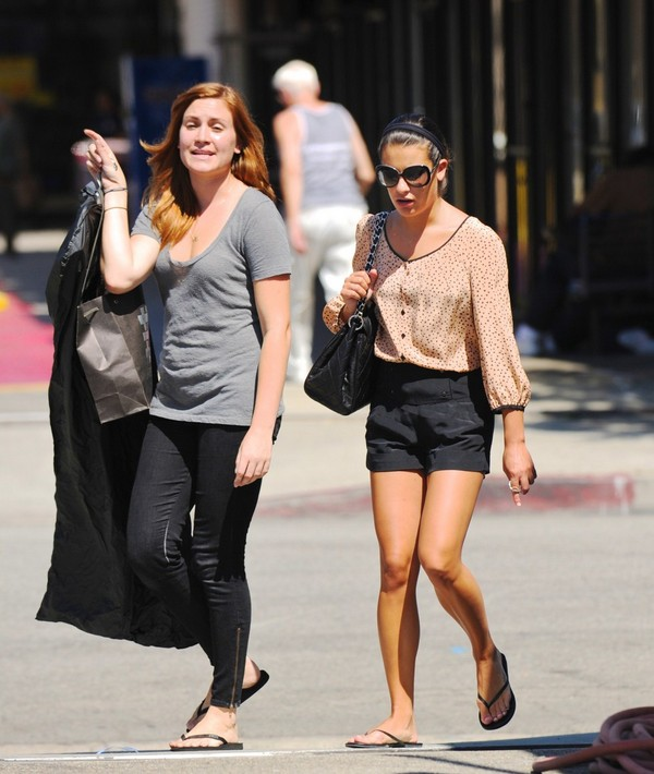 Lea Michele at Smashbox Studios in West Hollywood - July 26, 2011
