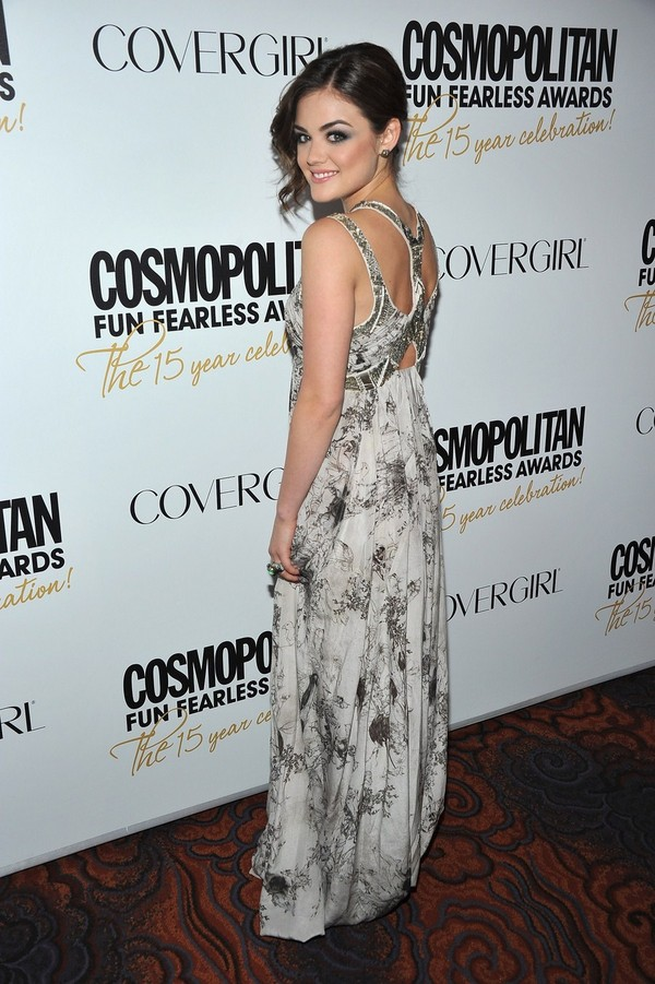 Lucy Hale - Cosmopolitan Fun Fearless Awards in New York - 5th March, 2012