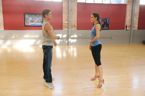 Maria Menounos at DWTS Season 14 Rehearsal