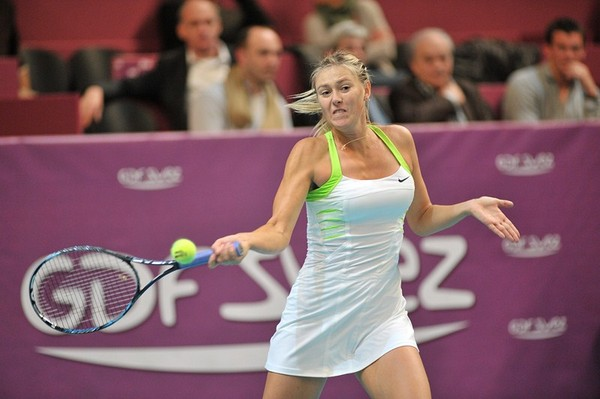 Maria Sharapova - 2nd Rnd 2012 GDF Suez Open in Paris February 2012