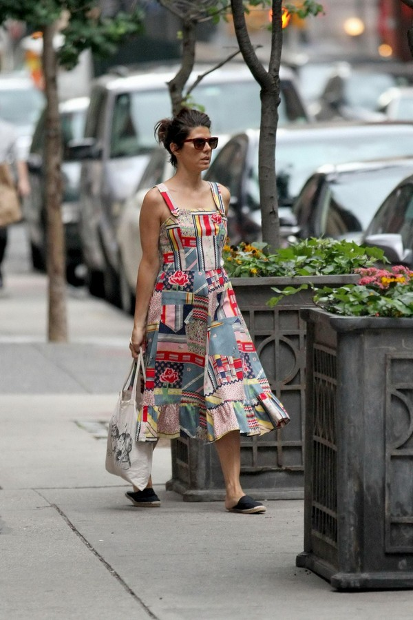 Marisa Tomei O&A in SoHo, Manhattan - July 16, 2011