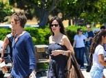 Mary-Louise Parker at Studio City Farmer's Market - June 26, 2011