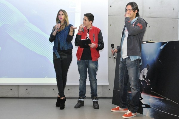 Melissa Satta at Nike stadium, Milan - 24th February, 2012
