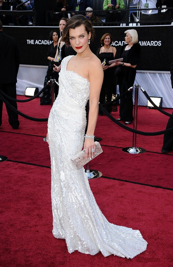 Milla Jovovich - 84th Annual Academy Awards on February 26, 2012