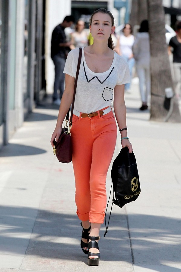 Nathalia Ramos - Out & About at Beverly Hills - 27th April, 2012