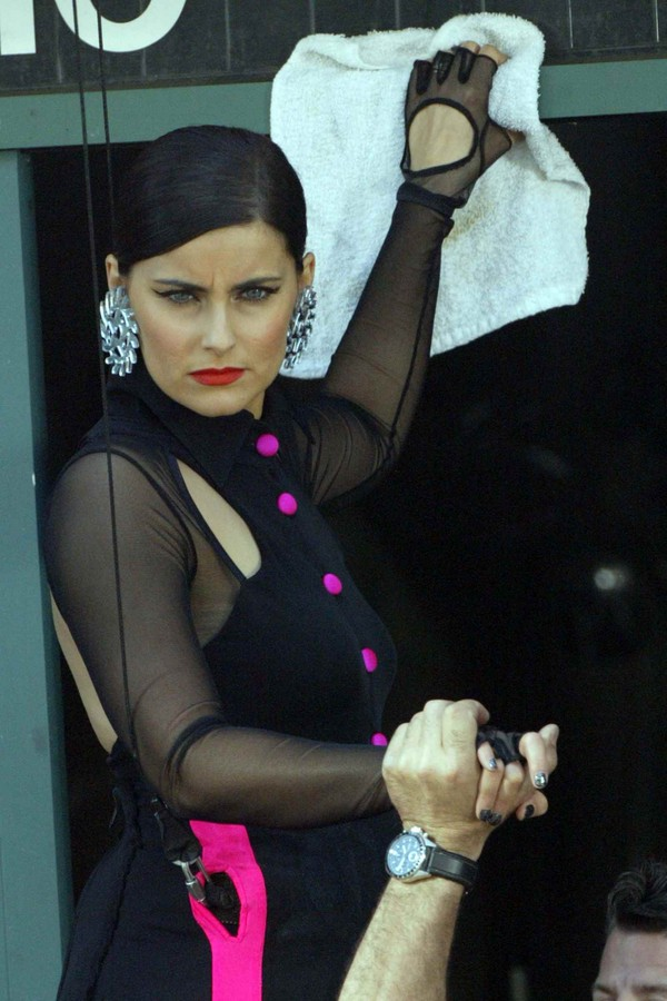 Nelly Furtado - On the Sets of a Music Video in Los Angeles - 5th April, 2012 ish