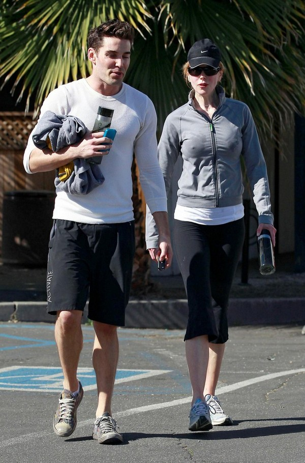 Nicole Kidman - Out for a morning workout in West Hollywood - 4th March, 2012