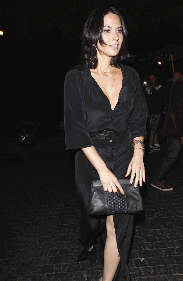 Olivia Munn at the Chateau Marmont in West Hollywood - 26th March, 2012