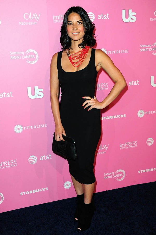 Olivia Munn at Us Weekly's Annual Hot Hollywood Style Issue Party 2012