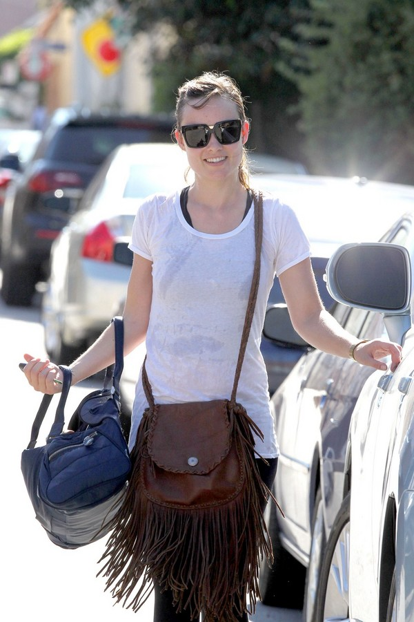 Olivia Wilde Post-Workout in LA - June 30, 2011