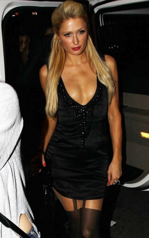 Paris Hilton - Goes Glam for Mom's 53rd Birthday Dinner at Mr Chow in Hollywood - 10th March, 2012
