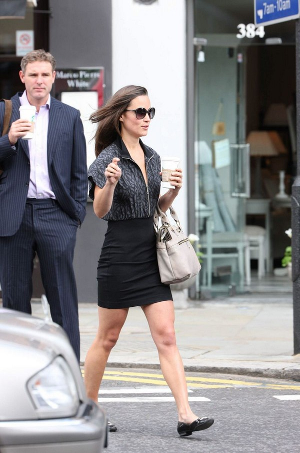 Pippa Middleton '2 Outfits' Out & About in London - July 14, 2011