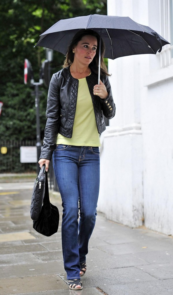 Pippa Middleton O&A in London - July 08, 2011