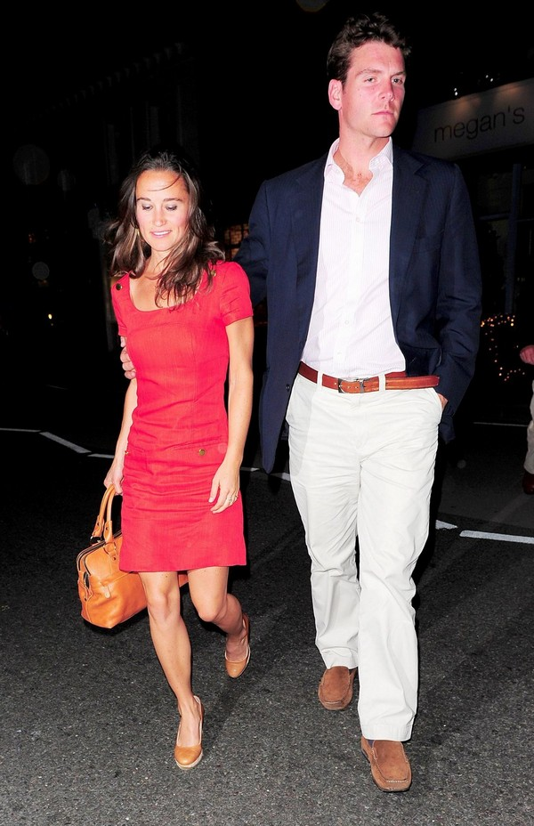 Pippa Middleton Outside Megan's Restaurant, London - June 29, 2011
