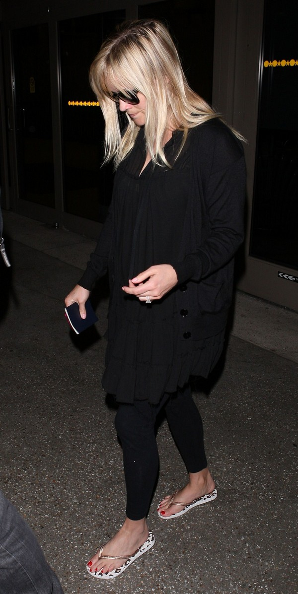 Reese Witherspoon at LAX 10th March, 2012