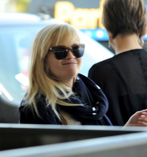Reese Witherspoon - Departing from LAX - 5th May, 2012
