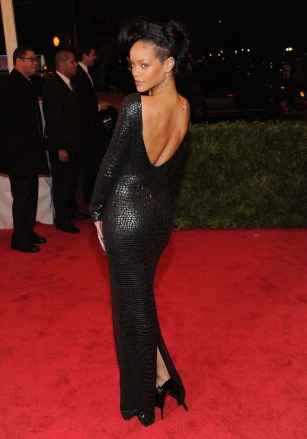 Rihanna - Costume Institute Gala Met Ball in NY - 7th May, 2012