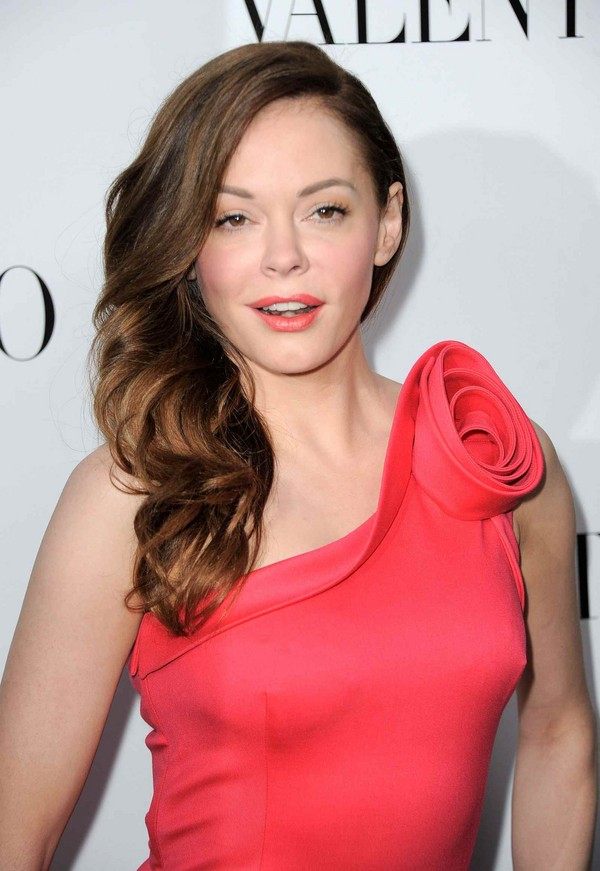 Rose McGowan - Valentino Rodeo Drive Flagship Opening in Beverly Hills - 26th March, 2012