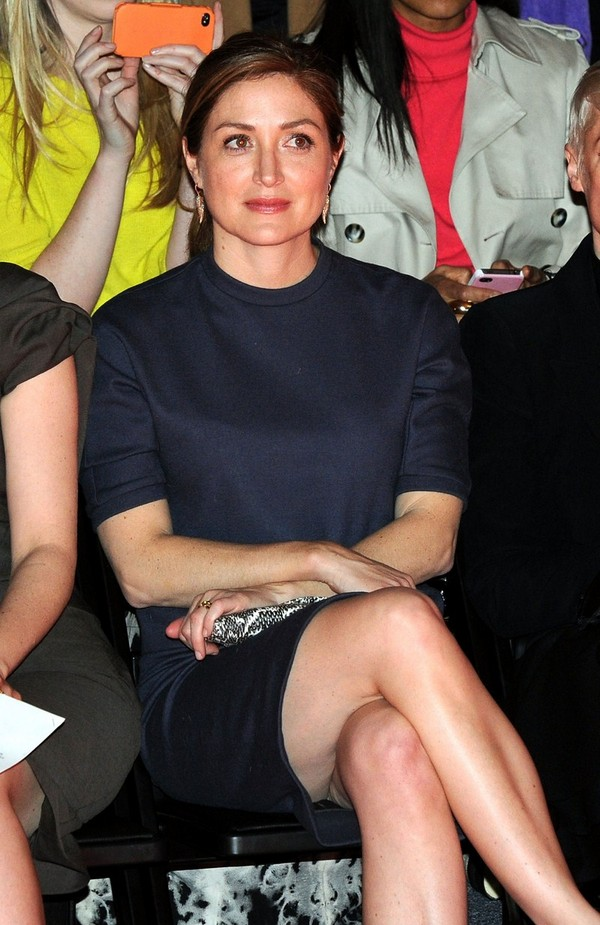 Sasha Alexander - Chadwick Bell fashion show in New York - 9th February, 2012