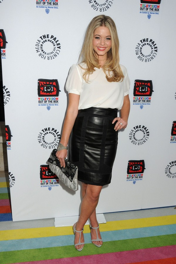 Sasha Pieterse - Paley Center's opening of 'TV Out Of The Box' - Beverly Hills - 12th April, 2012