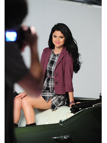 Selena Gomez in Dream Out Loud Fall Photo Shoot (2012)
