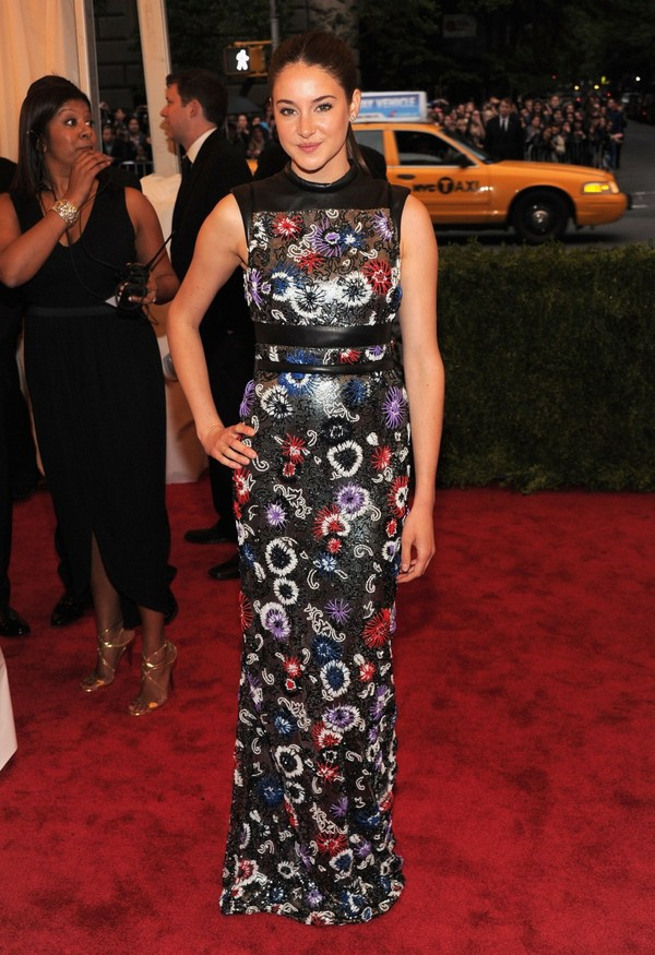 Shailene Woodley - Costume Institute Gala Met Ball in NY - 7th May, 2012