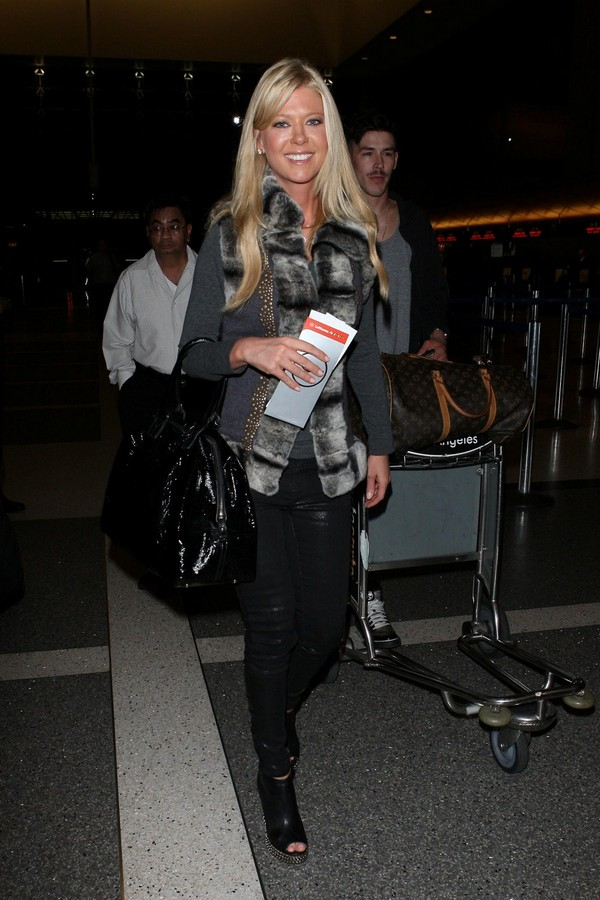 Tara Reid - LAX airport, LA - 24th March, 2012