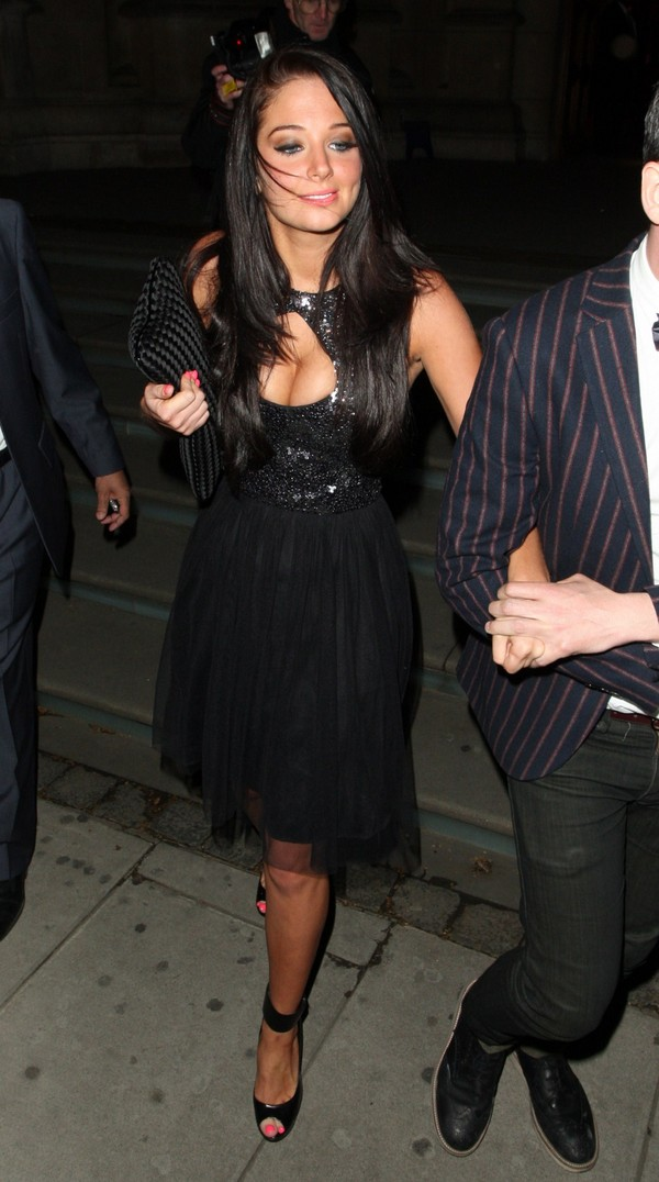 Tulisa Contostavlos at Jonathan Shalit's Birthday Party in London