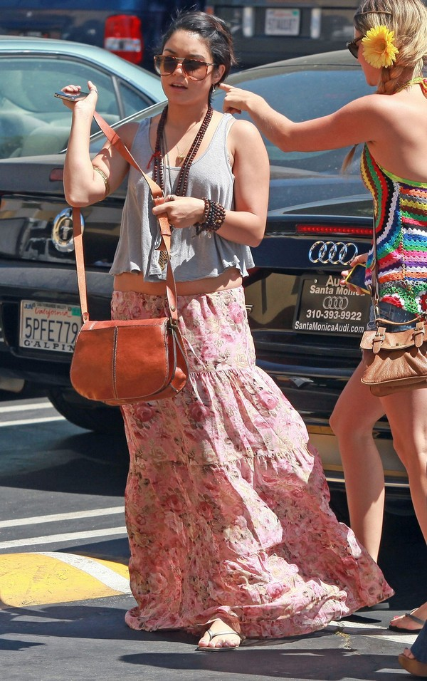 Vanessa Hudgens in Los Angeles - July 22, 2011