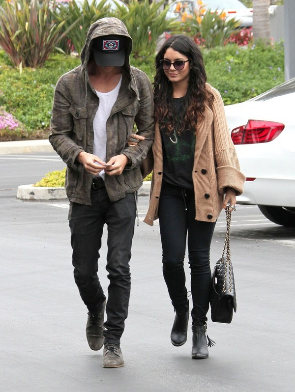 Vanessa Hudgens out in Culver City