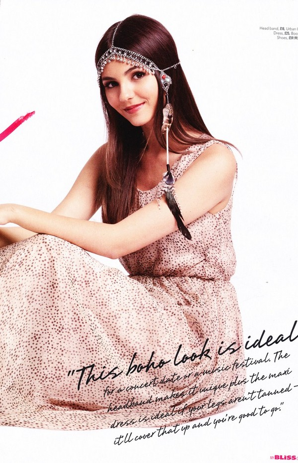 Victoria Justice - Bliss magazine March 2012 Issue