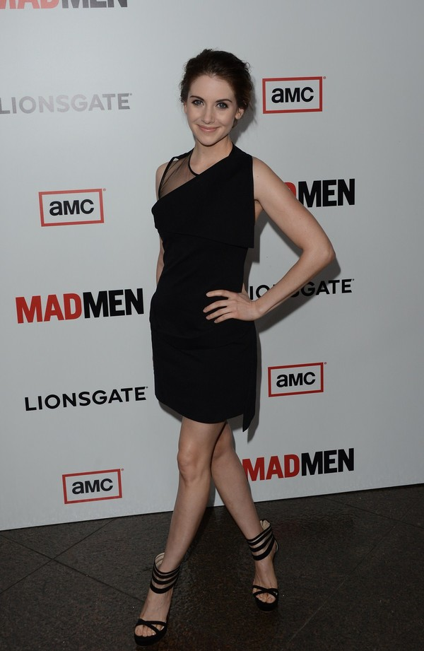 Alison Brie at 'Mad Men' Season 6 Premiere in L.A