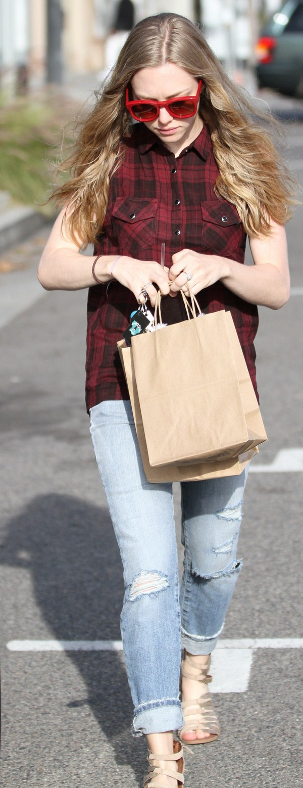 Amanda Seyfried out and about in West Hollywood on March 29, 2013