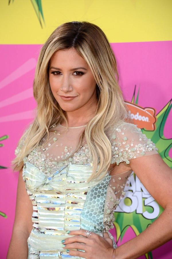 Ashley Tisdale at Nickelodeon's 26th Annual Kids' Choice Awards in Los Angeles
