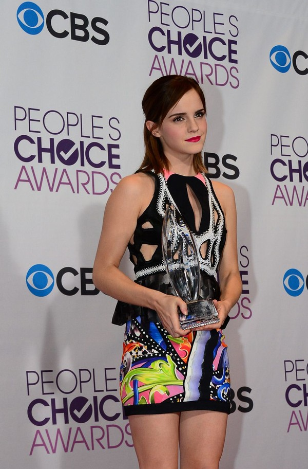 Emma Watson at 39th Annual People's Choice Awards in LA