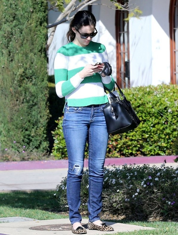 Emmy Rossum arrives at a hotel in Santa Barbara on March 24, 2013