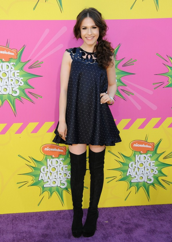 Erin Sanders at Nickelodeon's 26th Annual Kids' Choice Awards in Los Angeles