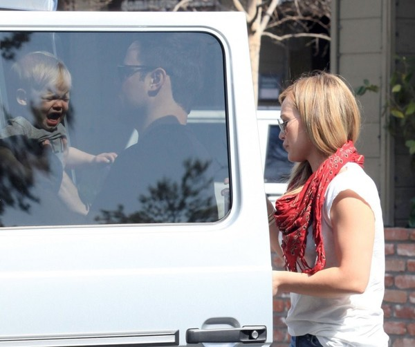 Hilary Duff out and about in Los Angeles on March 24, 2013