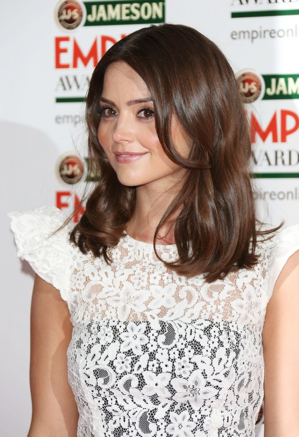 Jenna-Louise Coleman at 2013 Jameson Empire Awards at Grosvenor House in London