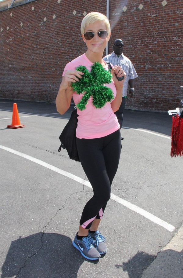 Kellie Pickler arriving at 'Dancing With The Stars' Studio in L.A. for rehearsal on March 17, 2013