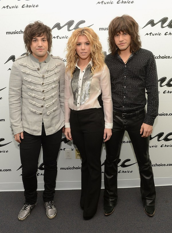 Kimberly Perry at Music Choice in New York on March 27, 2013