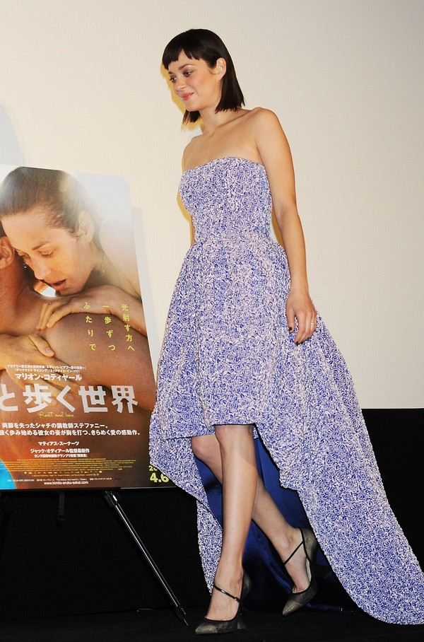Marion Cotillard at 'Rust And Bone' Premiere in Tokyo on March 26, 2013