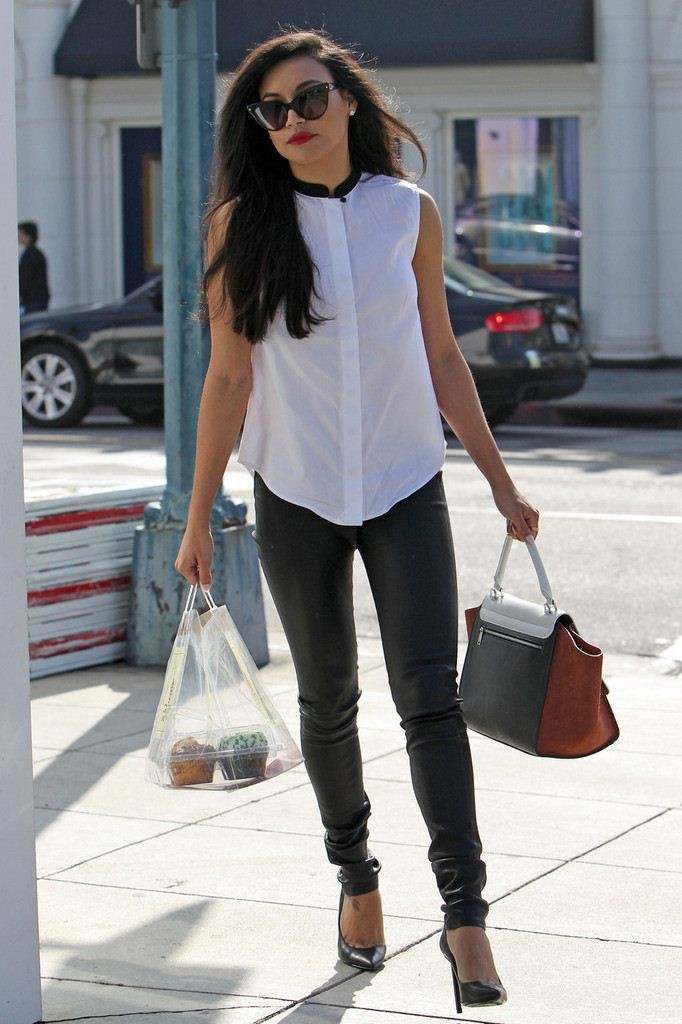 Naya Rivera Out and about in Los Angeles on March 15, 2013