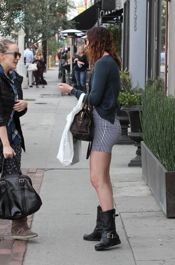 Rumer Willis out and about in Los Angeles - January 9, 2013