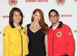 Amanda Righetti at City Year L.A. Spring Break Destination Education in Culver City on April 20, 2013