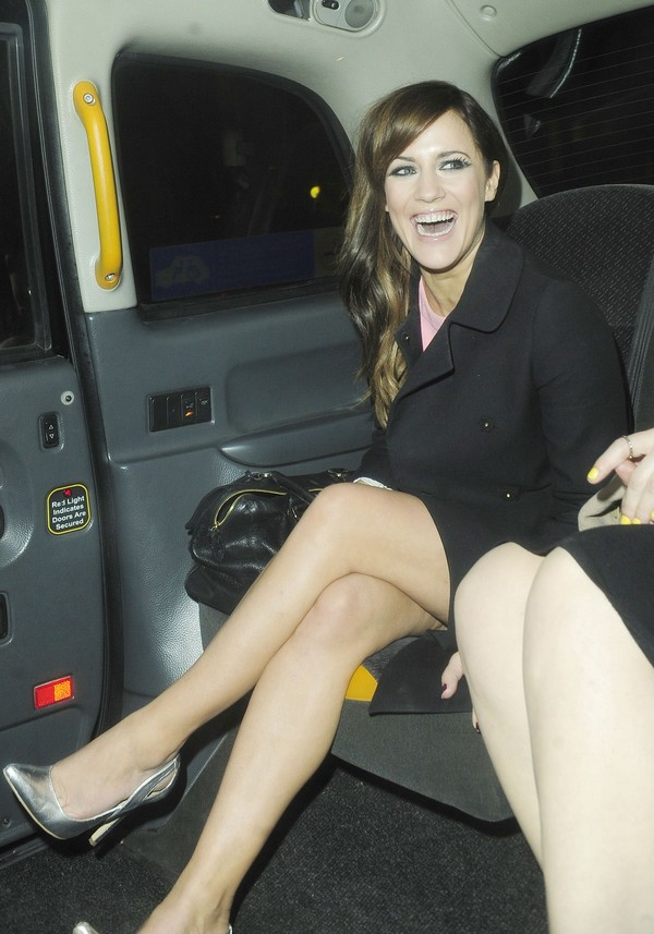 Caroline Flack at My Beautiful Ball Fundraiser at the Landmar Hotel in London on April 11, 2013