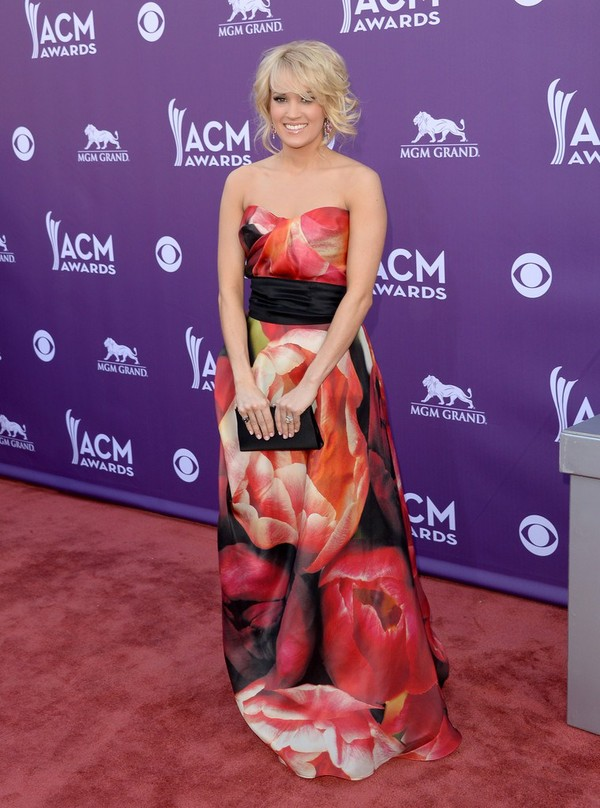 Carrie Underwood at 48th Annual Academy of Country Music Awards in Las Vegas on April 7, 2013