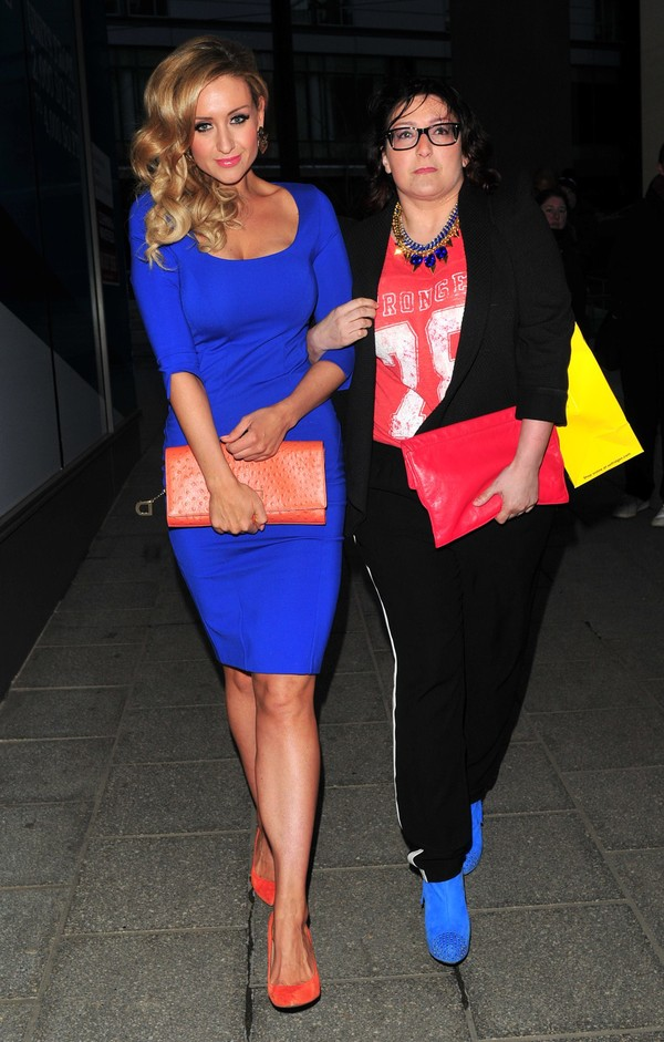 Catherine Tyldesley at Merabi Fashion Show in Manchester on April 4, 2013