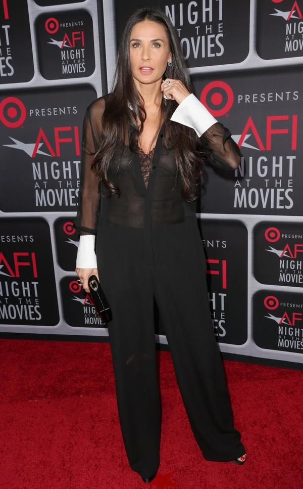 Demi Moore at Target presents AFI's Night at the Movies at ArcLight Cinemas in Hollywood