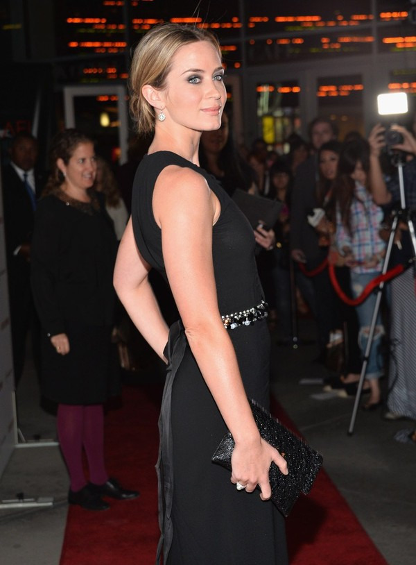Emily Blunt at 'Arthur Newman' Premiere in Hollywood on April 18, 2013